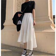 韓国ファッション新品 おしゃれ不規則スカート レディース 夏