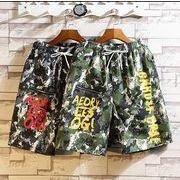【大きいサイズM-5XL】ファッション/人気半ズボン♪ブラック/イエロー2色展開◆