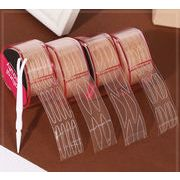 二重まぶたシール 長さや粘着力を自由に調整でき、自然な仕上がりになるアイテープ