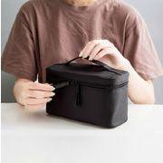 化粧ポーチ コスメポーチ メイク収納バッグ 旅行小物ポーチ 軽量 防水 大容量 機能的
