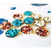 dff8b97f76e998 株式会社 ヒロテック · 夏アクセサリー トレンドパーツ(極小ガラスビーズ&サザレ石使用)ラウンドパーツ