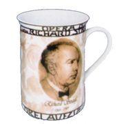 ドイツ・KONITZ Composers Strauss マグカップ(ボーンチャイナ)