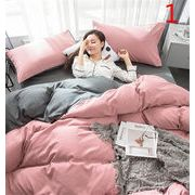 毎年人気のクラシックタイプ  INSスタイル 枕カバー 4点セット ふとんのシーツ シーツ 宿舎 簡約 寝具