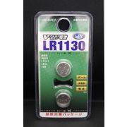 オーム電機 Vアルカリボタン電池 LR1130 2個入 LR1130/B2P 1.5V 【10点】