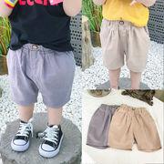夏★男の子 短パン★子供ズボン★キッズパンツ★純色スマート★2色 80-130