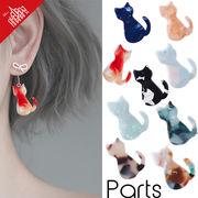 BLHW162273◆5000円以上送料無料◆マーブルチャーム◆アクリルパーツ 可愛い猫
