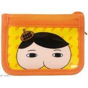 【お財布】おしりたんてい ラウンドウォレット オレンジ