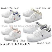 S) 【ラルフローレン】 スニーカー RF101539 PIERCE EZ シューズ 全4色 キッズ&ジュニア