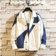 メンズ新作ジャケット コート トップス長袖 ゆったり カジュアル 大きいサイズ