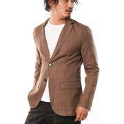 【2019秋冬新作】 テーラードジャケット メンズ グレンチェック柄 タータンチェック柄 韓国系ファッション