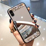携帯カバー スマホカバー iPhone ケース ミラー付きスマホケース