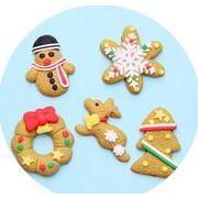 クリスマスのペンダント クリスマスアクセサリー 姜餅人雪花クリスマスツリーの鹿のペンダント