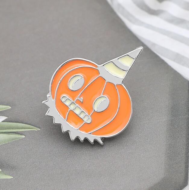 新作ブローチ ピンブローチ ハロウィン 飾り物 アクセサリー カボチャ ファッション小物