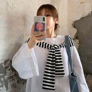 秋 新しいデザイン セット ファッション 中長スタイル シャツ 女 半袖の上着 ボトムシ