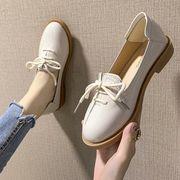 ペダル 小さな靴 女 韓国風 何でも似合う リボン ネット レッド 晩 靴 フラット フ