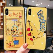【ファッション新品】 スマホケース ガラス iPhoneカバー iPhoneケース 保護 ピカチュウ