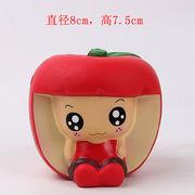 激安☆サンプル★スクイーズ★フォーカス玩具squishy★ストレス解消グッズ★果物フルーツ リンゴ