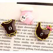くまのシャツ ウサギの靴下 樹脂部品 子供用アクセサリー素材 クリーム ゼリー 携帯ケースの付属品
