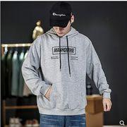 【大きいサイズM-5XL】ファッション/人気トップス♪グレー/ブラック2色展開◆