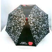 【雨傘】【ジュニア用】55cmスヌーピー&ウッドストック柄ジャンプ傘