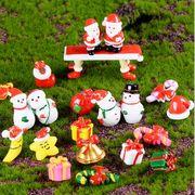 クリスマス飾りの置物 樹脂加工品 プレゼントのアイデア サンタクロース 雪だるま プレゼント