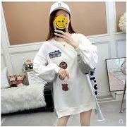 【大きいサイズ】ファッション/人気トップス♪ホワイト/グレー2色展開◆