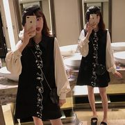 【大きいサイズL-4XL】【秋冬新作】ファッションワンピース