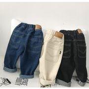 2019年新作★子供服★女の子★ジーンズ ★デニムズボン★カジュアルパンツ  80cm-120cm