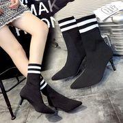 韓国ファッション ブーツ カジュアルシューズ 合わせやすい靴
