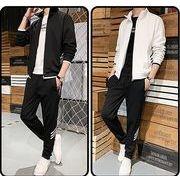【大きいサイズM-5XL】ファッション/人気/上下セットトップス♪グレー/ホワイト/ブラック3色展開◆