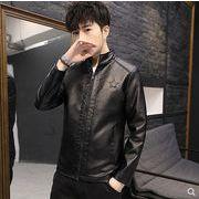 【大きいサイズM-4XL】ファッション/人気ジャケット♪ブラック/ブラウン2色展開◆