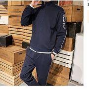 【大きいサイズM-5XL】ファッション/人気/上下セットトップス♪ブラック/ブルー/ホワイト3色展開◆