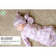MILKBARN(ミルクバーン) ニューボーンギフト(新生児向けギフト/出産祝い)3点セット