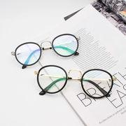 だてメガネ メタルフレームだてめがね 眼鏡 オシャレめがね レトロヴィンテージ