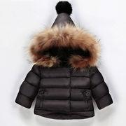 冬★♪厚手防風★♪男女兼用★♪綿服コート★♪暖かい★♪防寒★♪超可愛い80-130