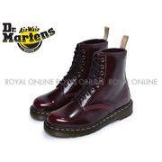 S) 【ドクターマーチン】 ブーツ 23756600 ビーガン 1460 8ホールブーツ チェリーレッド メンズ レディース