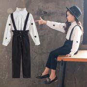 セットアップ 子供服 秋 上着+パンツ 女の子 2点セット 110-160 カジュアル系
