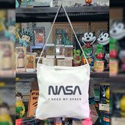 NASA公認(アメリカ航空宇宙局)2ウェイ・ショルダーバッグ・ロゴタイプ(ワーム)