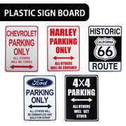 【実用性◎】AMERICAN プラスティックサインボード【駐車場スペース、R66他】