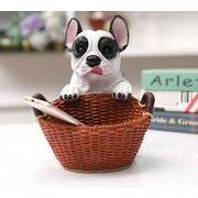 フレンチブルドッグ 樹脂犬 プレゼント 装飾用 動物モデル ブルドッグ キー収納ボックス