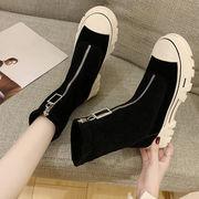 厚底 ささいなこと ヒール 女靴 ブーツ 高い靴 騎士のブーツ 秋冬 新しいデザイン シ