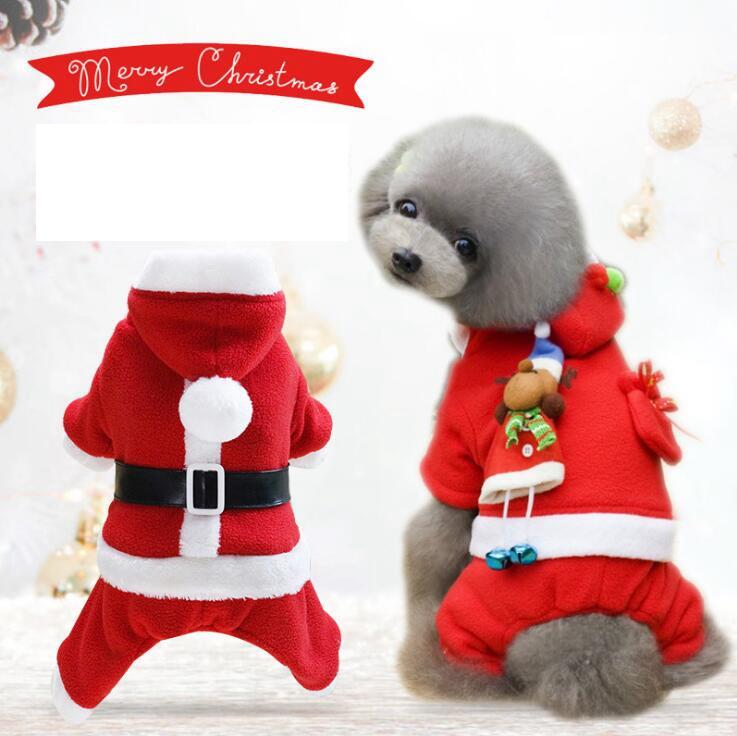 クリスマス ペット用品 犬猫の服 人気 ファッション 小中型犬服 犬猫洋服 ドッグウェア