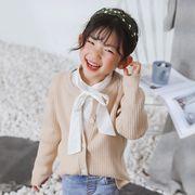 子供セーター 子供服 80-140 ニット トップス 女の子 カーディガン カジュアル系