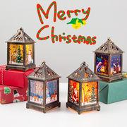 メリークリスマス LEDライト ランプ スタンドライト デコレーション 装飾 クリスマス用品 トナカイ サンタ