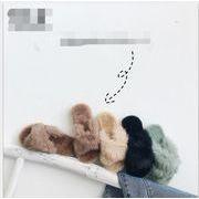 2019新品★可愛いデザインの子供靴★毛糸★スリッパ★カジュアル★女の子★★4色26-36