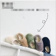 2019新品★可愛いデザインの子供靴★毛糸★ 綿入れの靴★カジュアル★女の子★5色21-35