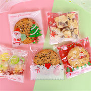 Christmas限定 OPP袋 ラッピング袋 ギフト袋 クリスマス用品 95~100枚入り プレゼント 包装 オーナメント