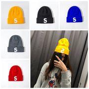 帽子 ニット帽子 メンズ レディース 秋冬 暖か ざっくり 編み