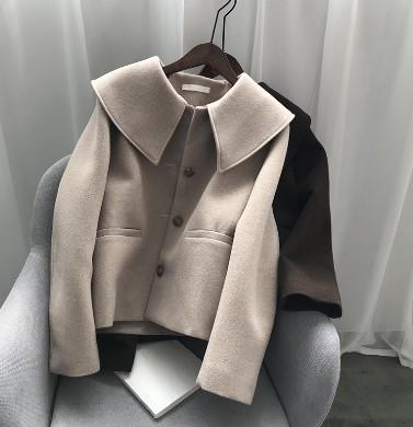 ショートコート セーラー襟コート アウター コート