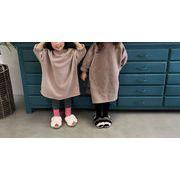 韓国子供服  裹ボア 女の子 キッズ  アウター 子供用 トップス 冬服   2色